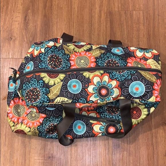 Vera Bradley Handbags - Vera Bradley Collapsible Duffel Bag